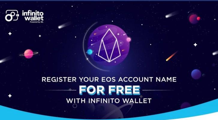 立即免费注册您的EOS帐户!Infinito钱包只需三个简单步骤