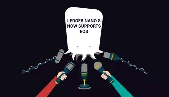 使用 Ledger Nano S导入管理EOS账号