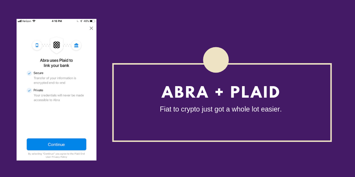 虚拟货币钱包Abra连接数千家美国银行推动机构投资