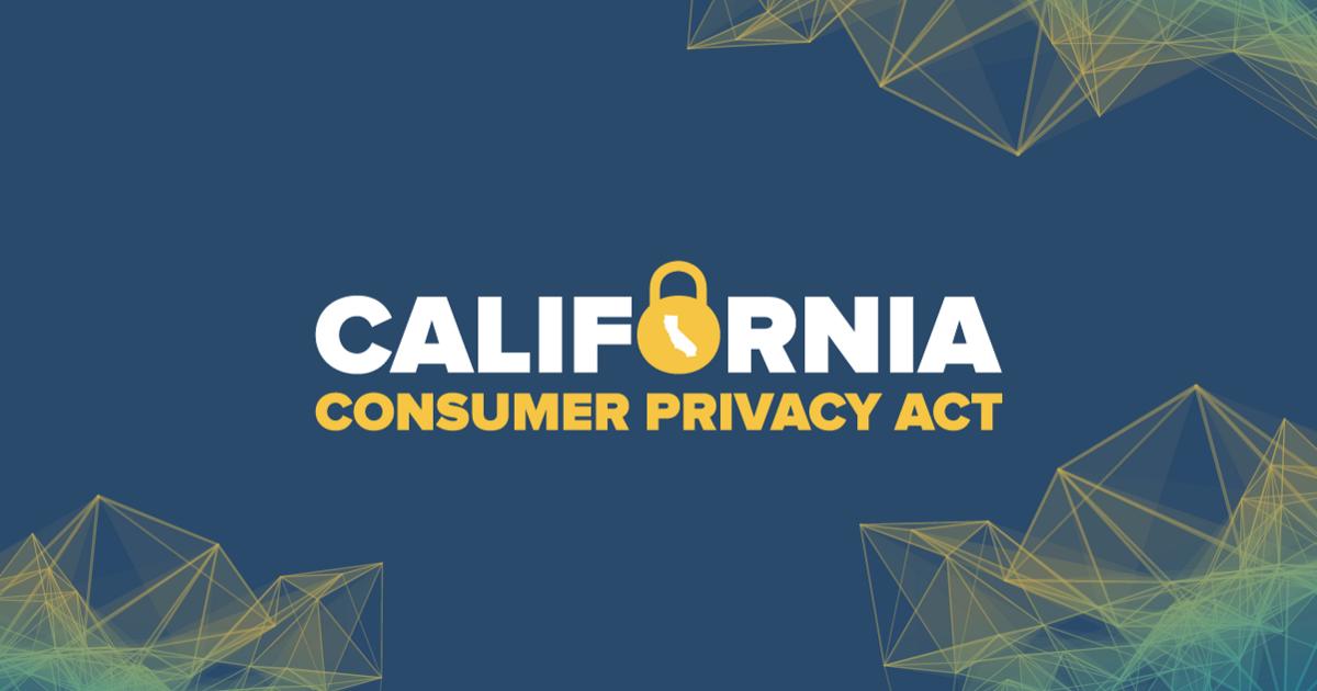 为什么美国所有的州都需要隐私法?如:加州消费者隐私法案